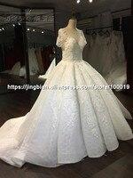 New Model Cap Sleeve Beautiful New Lace 2017 New Arrivals Wedding Dress Real Photos Vestido De