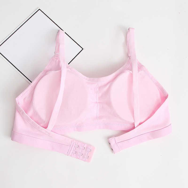 Teenage Girl Bra Seamless Bralette Full Cup Cotton Underwear Sleep Bra Tube Top Women Lingerie Female Intimates Push Up