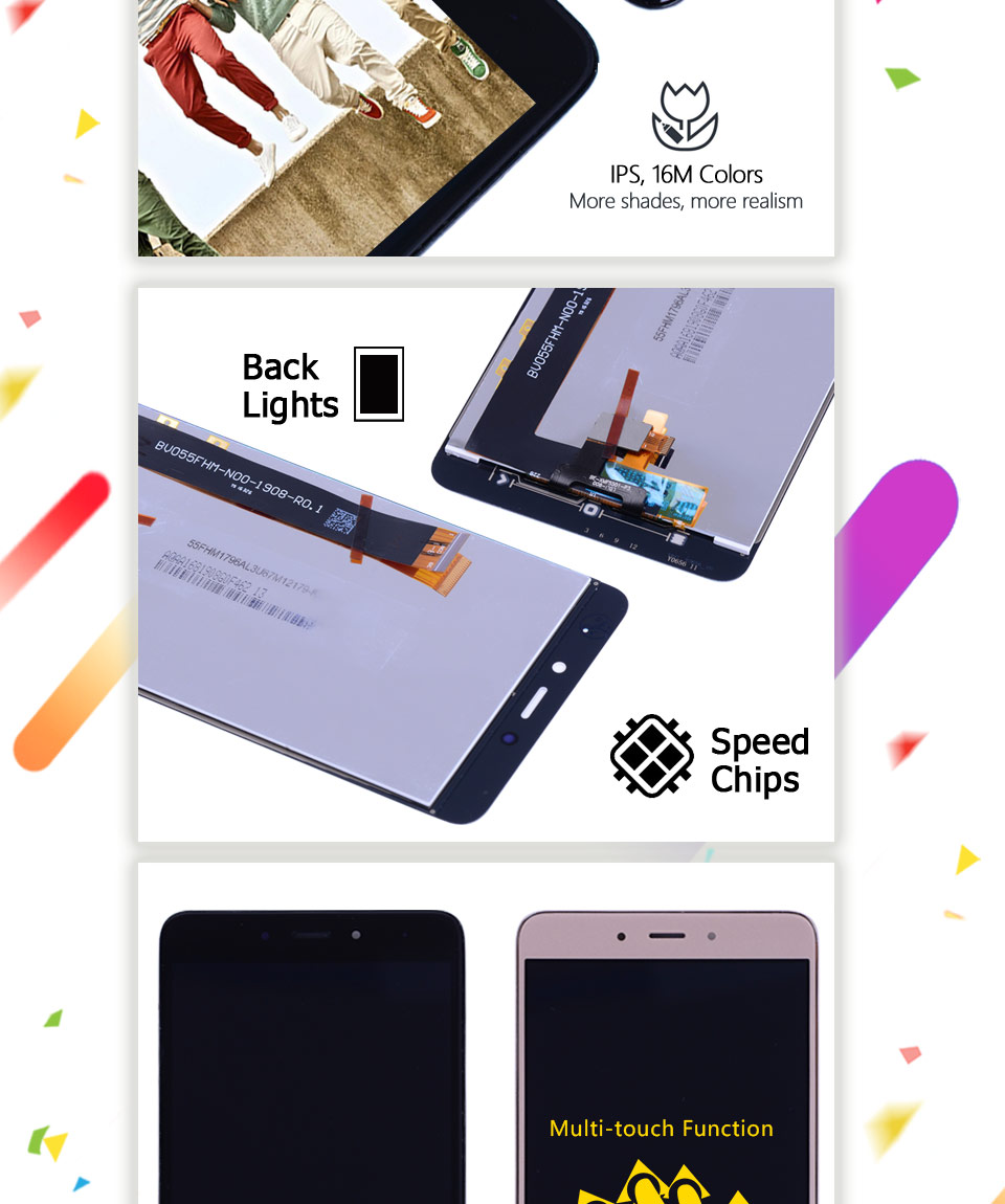 Original Mtk Helio X20 Display Xiaomi Redmi Note 4x Lcd Touch Screen Touchscreen 1 Tested 55 Version 3gb 32gbmtk For 4 Digitizer Replacement Parts