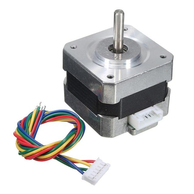 17 1 Pc Nema Motor de Passo 0.28N.m 0.4A 18 graus 12 V para CNC 3D Impressora de Motor De Passo DIY