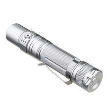 Sofirn SP32A V2.0 Powerful LED Flashlight Cree XPL2 1300lm Torch Light EDC Flashlight 18650 Portable Lamp 2 Groups Silver Color