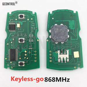QCONTROL Keyless-go Remote Control Smart Key Circuit Board for BMW CAS3 System 1/3/5 Series CAS3 X5 X6 Z4 868MHz ID46 PCF7945(China)