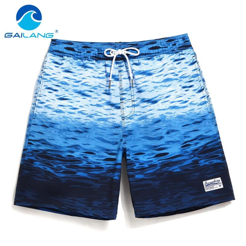 gailang marca degli uomini beach shorts consiglio boxer aderenti shorts boardshorts uomo costumi da bagno moda