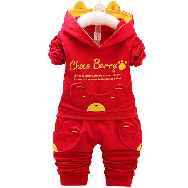 514c98ae2b6 Online Shop 2019 New Chidren Kids Boys Clothing Set Autumn Winter 2 Piece  Sets Hooded Coat Suits Baby Boys Fall Clothes 12 Month-3 Years Old