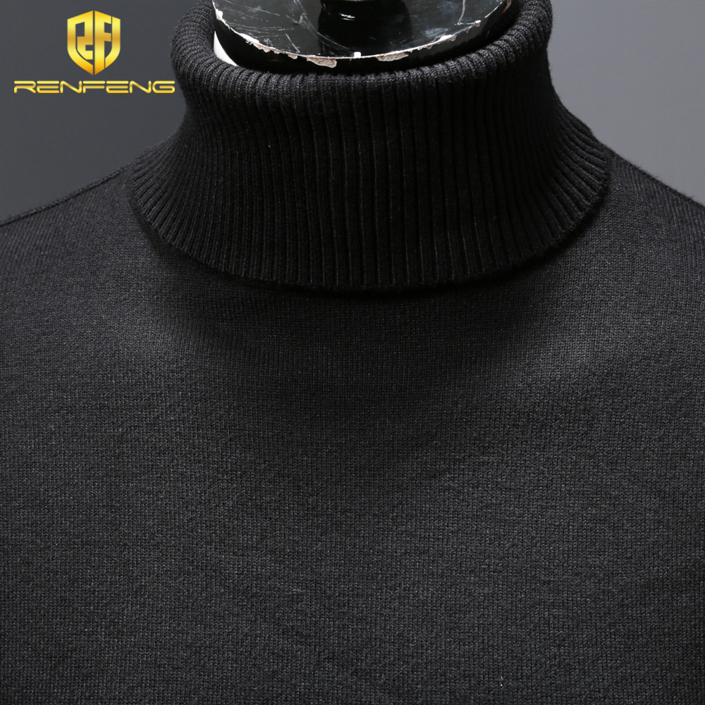 mens wool sweaters 2018 turtleneck men winter shirt christmas sweaters dress man clothes knitwear pullover jumper for male (7)
