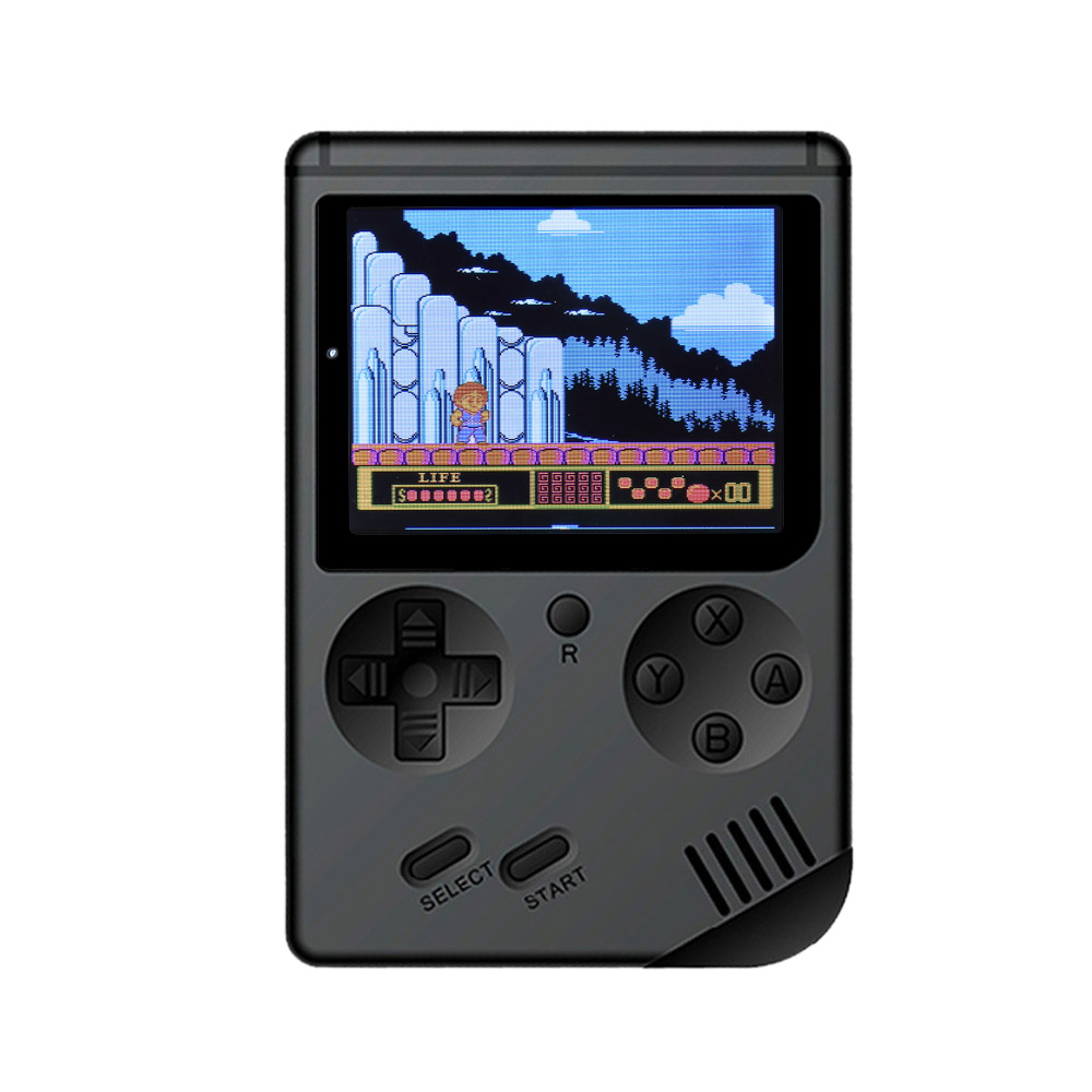 AV Port MINI Video Game Console 3.0 inches Portable Handheld Game Player Built-in 168 Games Video Games Best Gift For Kids