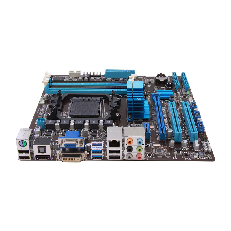 Original For ASUS M5A78L-M M5A78L-M/USB3 760G desktop motherboard MB AM3 AM3+ DDR3 32G RAM 100% fully Tested Free shipping 2