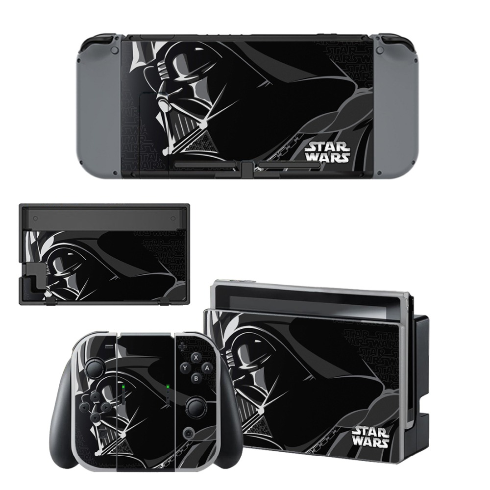 Nintend Switch Vinyl Skins Sticker Star Wars For Nintendo Switch Console and Controller Skin Set
