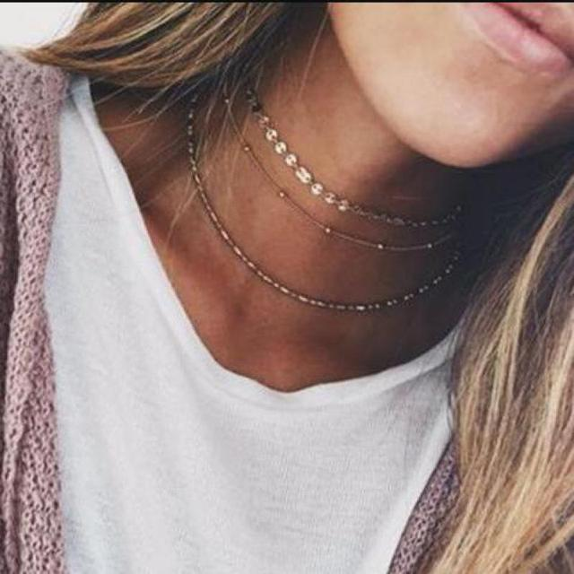 Image result for layered choker necklace