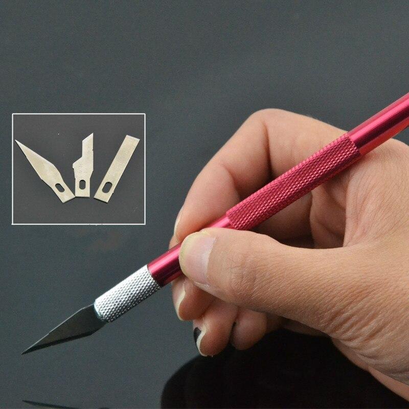 Резьба по металлу нож Papercut мобильного телефона схема резак