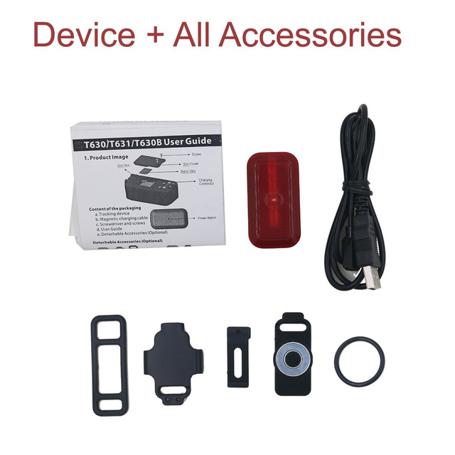 Mini GPS Tracker For Dogs Children - Bikes - Bags Waterproof Tracking Locator  - Standby 7 Days FREE Software APP Lifetime 6