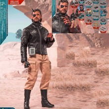Collectible 1/6th Ismael & Aehab Exclusive Version Male Figure Doll Model Full Set Solid Snake Action Figure for Fans Gift