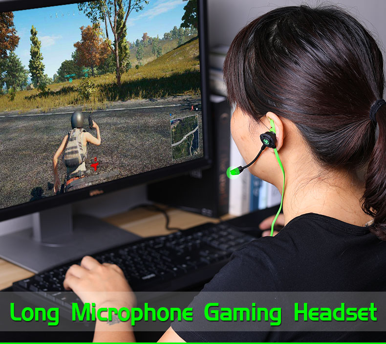 Plextone G30 Bass Gaming Headset w/ Detachable Microphone Phone PC Stereo Game Earphone for Playerunknowns Battlegrounds Gamer