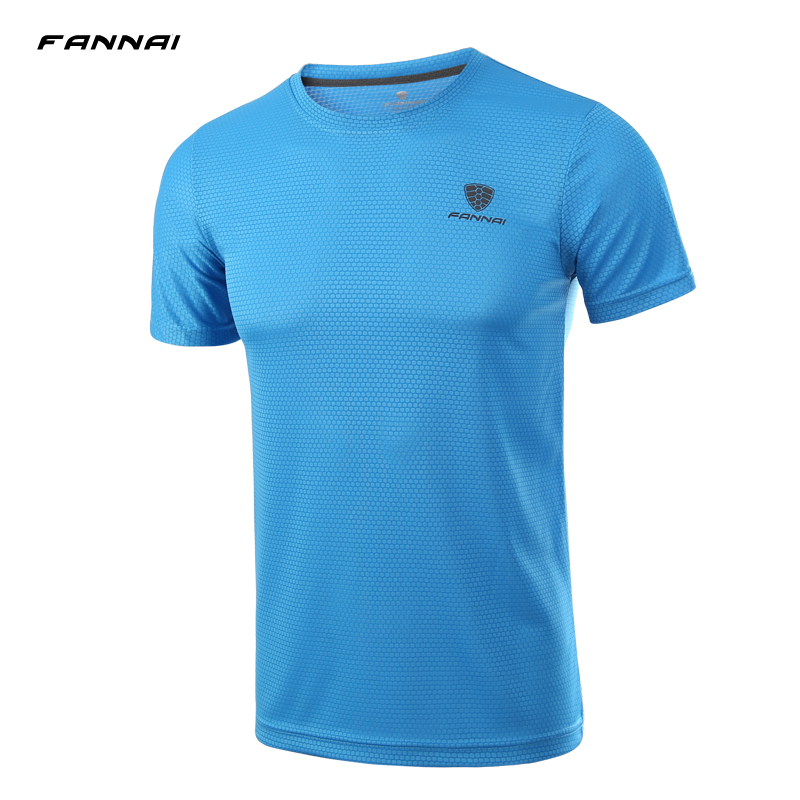 2017 summer fannai t shirt men brand fashion men t shirt for One color t shirt