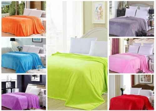 Super Macio Micro Quente Cobertor De Lã de Pelúcia Tapete Sofá Cama 200*230 CENTÍMETROS