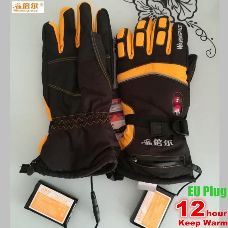 5600Mah Smart Electric Heated Gloves,Ski Waterproof -5477