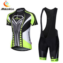 Malciklo Ciclismo Jersey 2018 pro equipo Verano de manga corta Ciclismo set  bike ropa ciclismo Ciclismo e74e08814