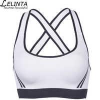 LELINTA New Style Seamless Spring Sports Bra Sexy Stretch Gym Fitness Bra Wirefree Padded Push Up Bra Top Underwear