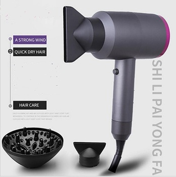 3-in-1 Electric Intelligent Anion Care Hairstyling Tool Hairdryer Hair Blow Dryer Comb Fast Dry Straight Hot Air Styler Salon 2017 diffuser hair dryer professional fast hair salon equipment styling tools anion blow hairdryer with nozzle hair curler comb