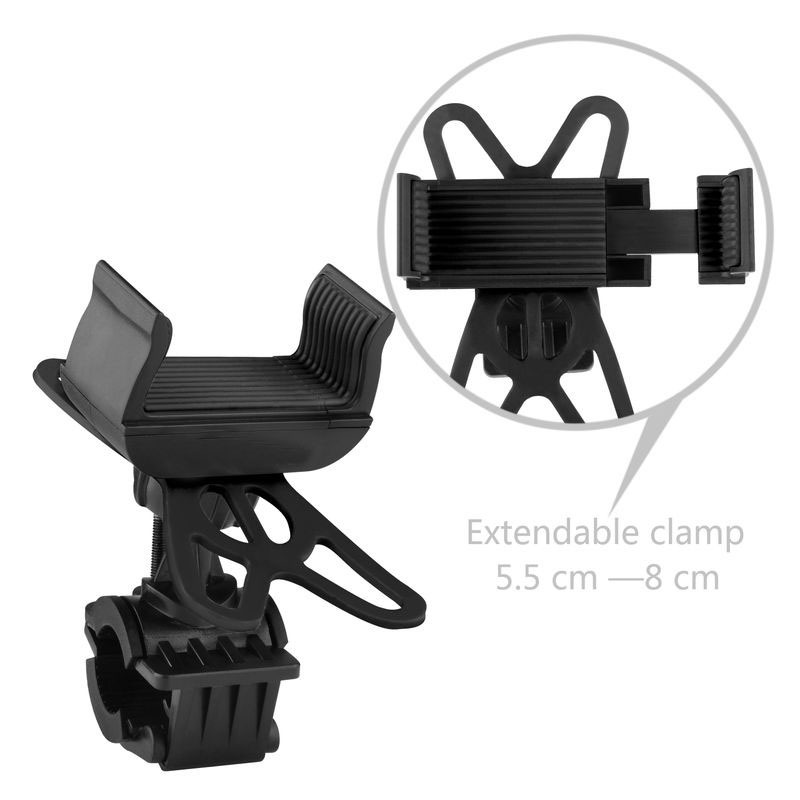 Bike Holder 360 Rotatable adjustable Universal Phone Holder Bicycle Mount Holder for Phone and GPS Device