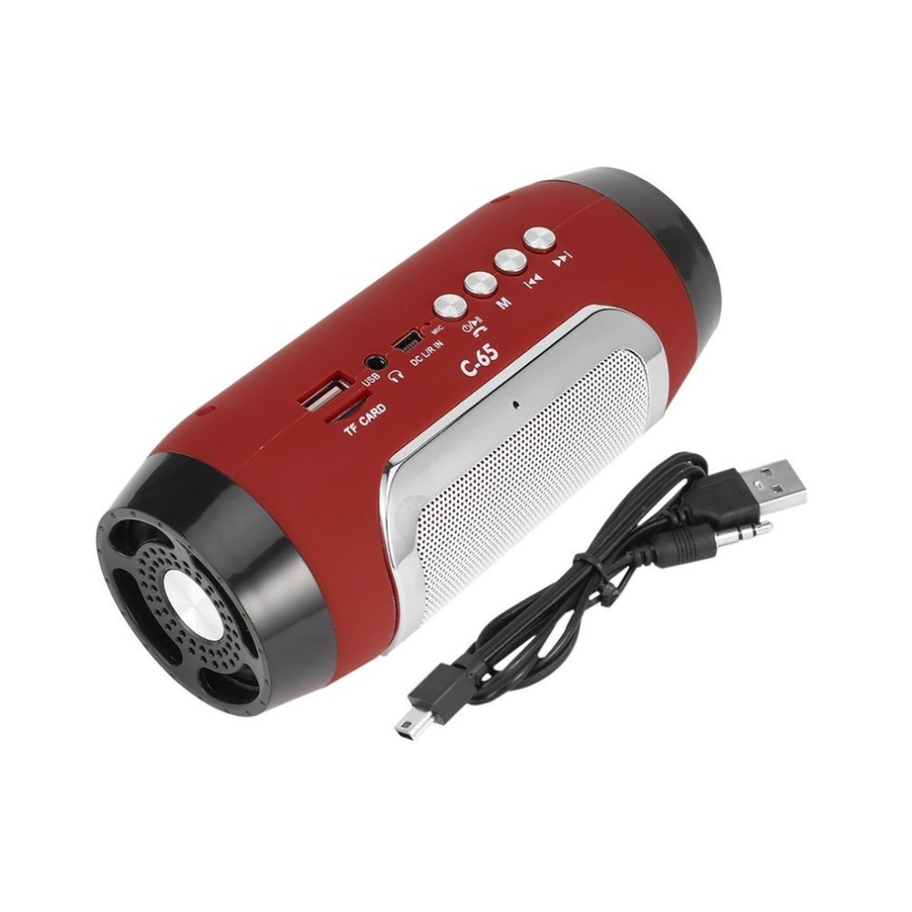 HIFI Portable Wireless Bluetooth Speaker Stereo Soundbar TF FM Radio Music Subwoofer Column Speakers For Computer Phones