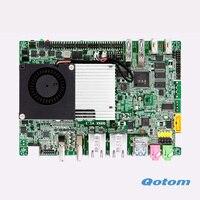 6 * COM Çift Lan kurulu Mini anakart üzerinde GPIO Celeron 3215U POS Makinesi ATM TV KUTUSU Için Uygun
