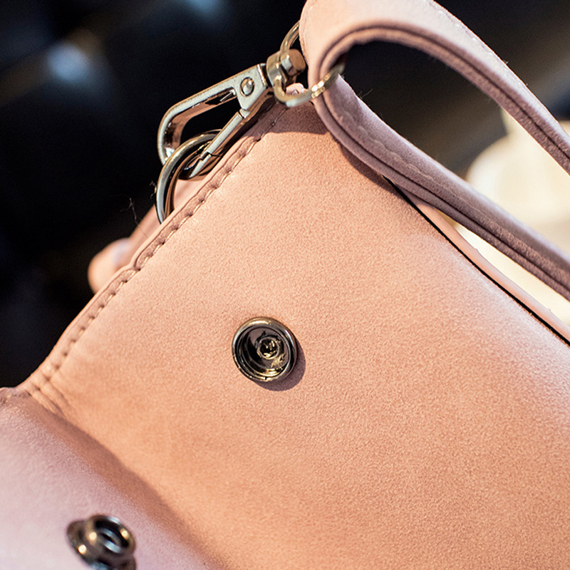 dda10fac019d Hairball Hand Bags Ladies Handbags Scrub PU Leather Shoulder Bag Gray Women  Small Pink Handbags Designer Tote Bags -in Top-Handle Bags from Luggage    Bags ...