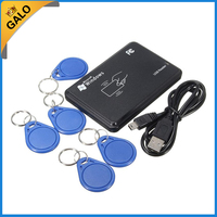 NEW USB 125khz RFID Read Writer Duplicator Copier Duplicate Compatible With 5 Tags Data Retention Durable