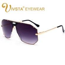 CAZ3L CA 905 orijinal Logo ile Pilot güneş gözlüğü erkekler boy Steampunk çerçeve büyük büyük marka tasarım UV400