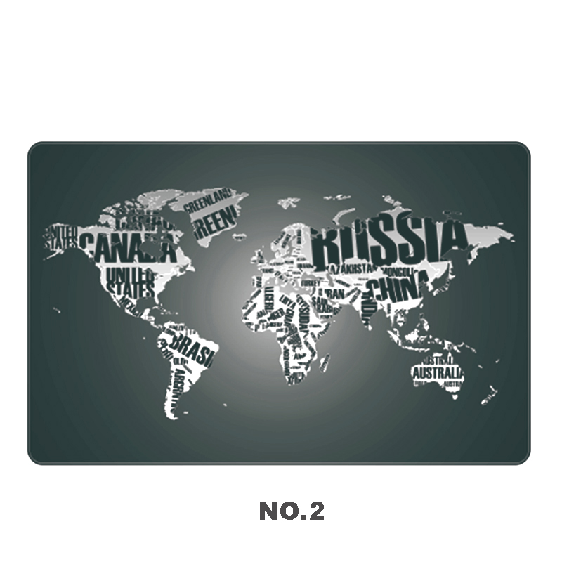 700*450mm World Map Keyboard Mouse Pad Large Size Table Mat Soft PC Computer Pad For Game Player School Office Supplies 300x700x2mm ultra large thickening mouse desk keyboard pad table mat