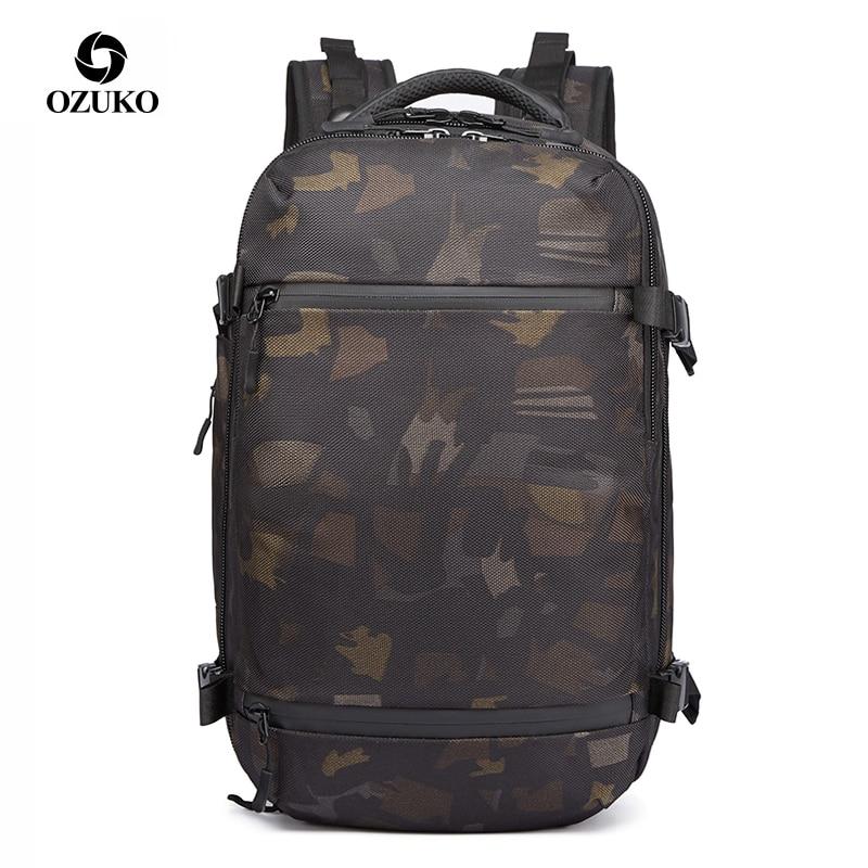Hommes sac de voyage femmes 17 20 pouces grande capacité bagages sac à dos USB multifonctionnel étanche loisirs sac à ordinateur portable mâle nouveau
