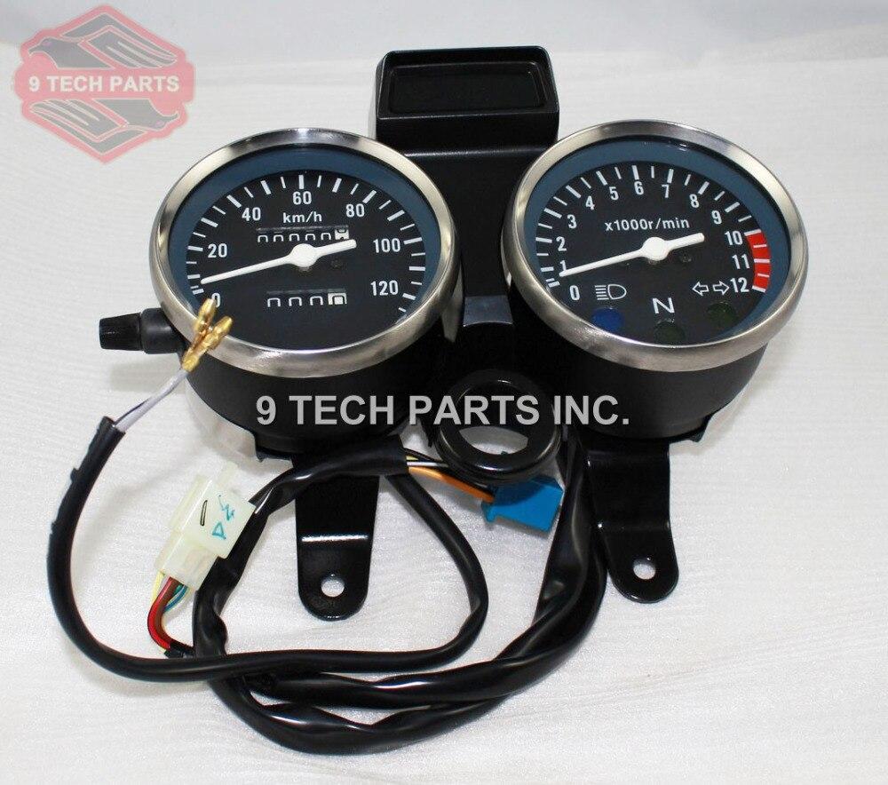 High Quality GN 125 GN125 Speedometer & Tachometer Complete Clocks Gauges clocks