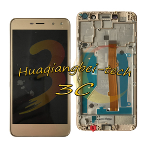 Image 2 - New For Huawei Nova Young 4G LTE MYA L11 / Y6 2017 MYA L41 MYA L01 Full LCD DIsplay + Touch Screen Digitizer Assembly With Frame