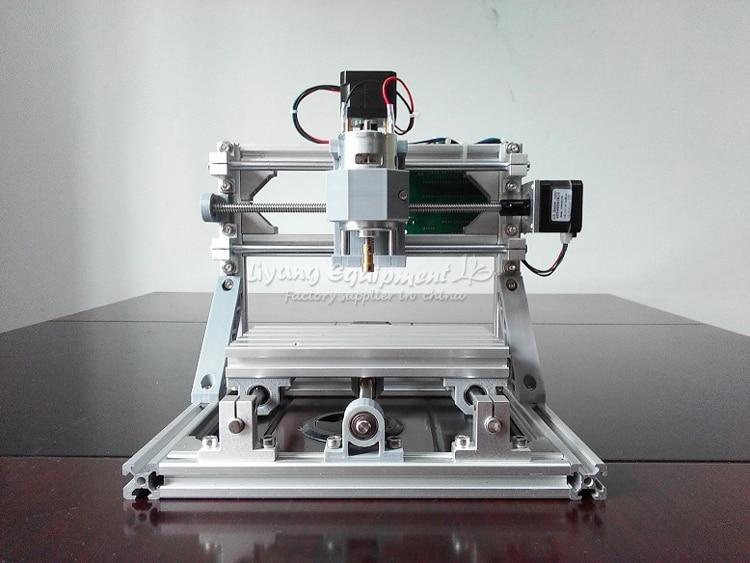Mini CNC fraiseuse 1610 500 mw laser CNC graveur travail pour pcb bois pvc etc avec contrôle GRBL - 3