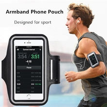 Waterproof Armband Running GYM sport phone bag case For LG G3/G4/G4 DUAL/G5 SE/K10/K8 Arm Band Mobile cell phones Pouch(China)