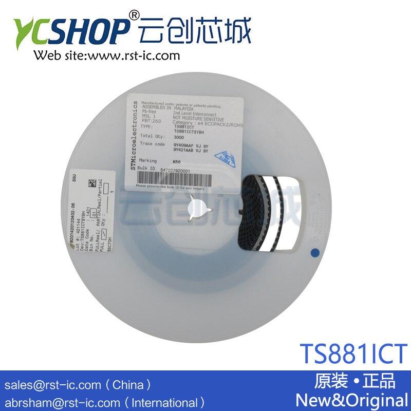TS881ICT SC-70-5 Integrated Circuits (ICs) Linear - Comparators