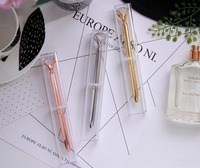 Crystal Ballpoint Pen with plastic box case 1300pcs