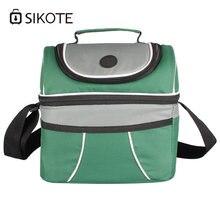 Sikote портативная термо сумка для ланча lancheira женщин и