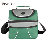 SIKOTE Portable Lancheira Thermo Lunch Bag Women Men Kid Thermal Food Picnic Launch Box 10L Cooler