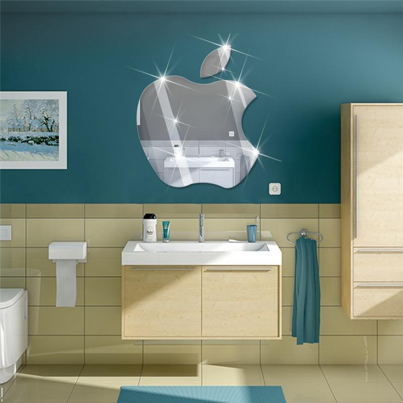 Online Kaufen Großhandel Spiegel Fliesen Badezimmer Aus China ... Kreative Badezimmergestaltung