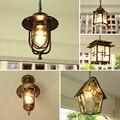 Balcone europea piccolo lampadario corridoio corridoio Villa giardino Parco impermeabile per esterni lampadario