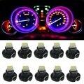 10 unids neo t3 led smd de la cuña dashboard cuadro de instrumentos luz del coche Panel de Medidores Speedo Dash Bombillas 10X azul verde rojo blanco amarillo