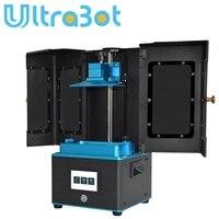 Tronxy Yeni LCD 3d yazıcı UV reçine Işık Tedavi DLP/LCD Impresora Masaüstü kullanımı UV Reçine pk foton a6 a8