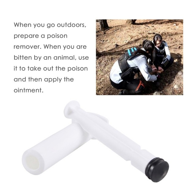 PVC Extractor Pump Kit Will Suction Out Poison/Venom From Snake and Bug Bites Safety Kit Emergency Bite Survival Tools Hot