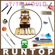 5 en 1 máquina = samsung medio bisel splite + iphone marco de Laminación + Bomba de Vacío Separador de Pantalla LCD + Glue Remover