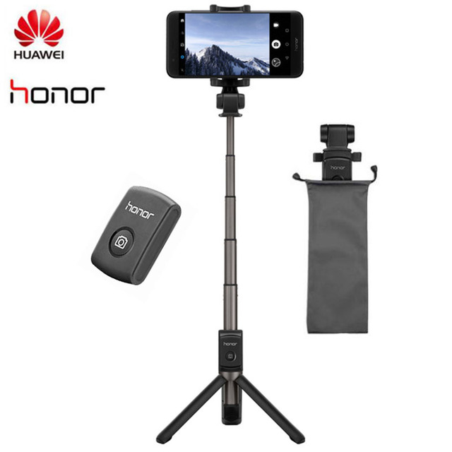 Original Huawei Honor AF15 Bluetooth Selfie Stick Tripod Portable Wireless Control Monopod Handheld for iOS/Huawei/Xiaomi Phone