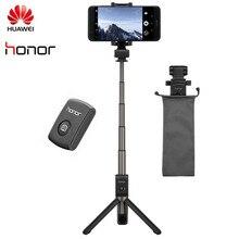 Oryginalny Huawei Honor AF15 / PRO Bluetooth Selfie Stick statyw przenośny bezprzewodowy Monopod ręczny dla iOS/Xiaomi telefon