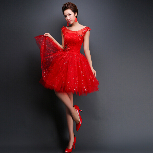 Red Dresses for Juniors Special Occasion