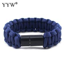 YYW Umbrella Rope Bracelet For Samsung Xiaomi Android Usb Data Cable Charger Multifunction Bracelets Bangles