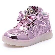 Lumières enfants Chaussures Enfants Chaussures Lumineux Garçons Filles Pour Lumières Chaussures Bébé Clignotant Lumières Mode Sneakers Enfant/petit Enfant
